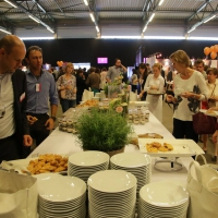 Lunchtime: experience the power of some great food and terrific networking conversations